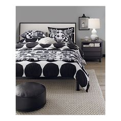this is your new bedroom, except the linens are blue/gray