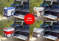 DS40 Drop Slide for ARB Fridge Freezer - Good mounting solution for the fridge. - Project Tacoma Overland
