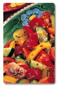 Cucumber & Sweet Bell Pepper Thai Salad