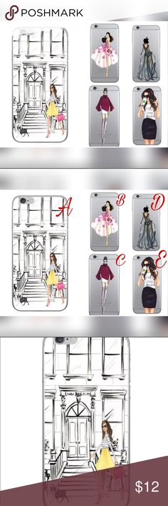 New Sexy girl 💋for iPhone 7 plus New cases, I have a few different cases please check my closet:) take a bundle and save your money 💰I ship the same day Accessories Phone Cases