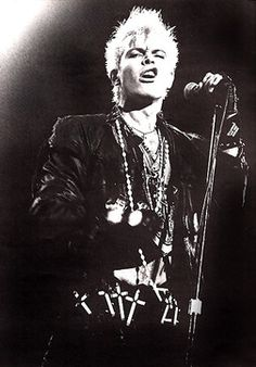 Billy Idol (born William Michael Albert Broad on November 30, 1955 in Middlesex, England) is an English musician.