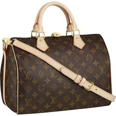 Louis Vuitton Speedy 30 Monogram Canvas M40391