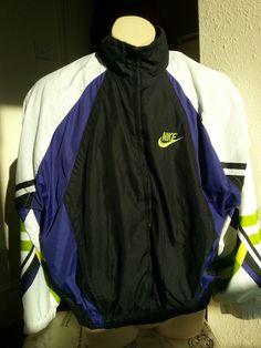 nike vintage retro jacket tracksuit raver 90 s shellsuit £39.00