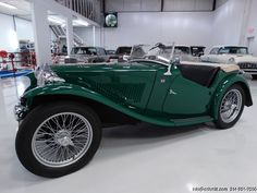 DANIEL SCHMITT & CO CLASSIC CAR GALLERY PRESENTS: 1948 MG TC ROADSTER