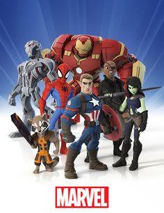 Marvel Disney Infinity characters.