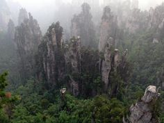 Parque Nacional del Bosque de Zhangjiajie.  China