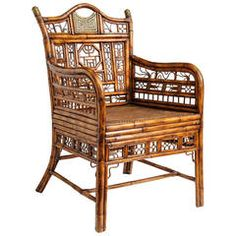 """Brighton"" Bamboo Armchair or Desk Chair"