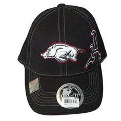 NCAA Arkansas Razorbacks Corduroy Embroidered  Cap New