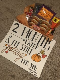 Creative Gifts For Boyfriend, Birthday Gifts For Boyfriend Diy, Cute Boyfriend Gifts, Bf Gifts, Diy Gifts For Him, Fall Gifts, Thanksgiving Gifts, Cute Anniversary Gifts, Boyfriend Anniversary Gifts