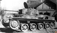Hungarian Toldi tank