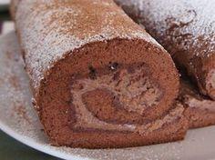 Varomeando: Rollo de chocolate con nueces