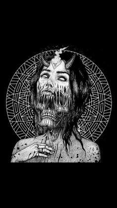 Michael Myers Does the Splits - Art Print Kunst Inspo, Art Inspo, Arte Horror, Horror Art, Fantasy Kunst, Fantasy Art, Dope Kunst, Dibujos Dark, Satanic Art
