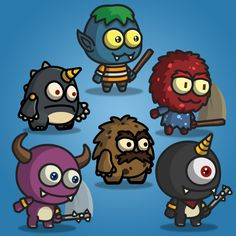 Cartoon Enemy Pack 03