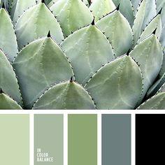монохромная зеленая цветовая палитра, монохромная цветовая палитра, оттенки зеленого, оттенки салатового, подбор цвета, салатовый и зеленый, цвет зелени, цвет свежей зелени, цвет травы, цветовое решение для дизайна, цветовые сочетания, черный.