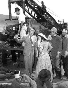 gone with the wind behind the scenes photos: