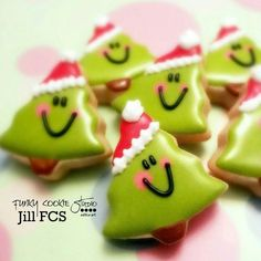 Happy Christmas trees! Funky Cookie Studio