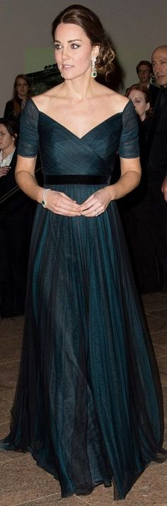 Kate Middleton in Jenny Packman at New York Official Visit