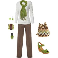 Lime, created by khuffmans1 on Polyvore