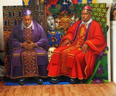 Double Carnival portrait by Oscar Estevez Carnival, Portrait, Artist, Painting, Headshot Photography, Carnavals, Artists, Painting Art, Portrait Paintings