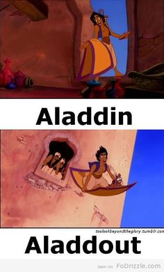 disney humor never gets old. I found this way more funny than it should be..
