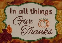 Give Thanks Frame Applique - 5x7 | What's New | Machine Embroidery Designs | SWAKembroidery.com PunKin Design