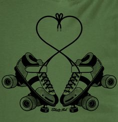 Roller derby love. I have this pin!