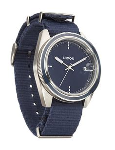 The NATO strap says casual, but the sleek, understated face keeps things classy. The Rover II ($295) by Nixon, barneys.com   - Esquire.com