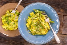 This recipe originally appeared on the Rachael Ray Show. For more recipes and videos from the show visit RachaelRayShow.com. Ingredients 2 tablespoons EVOO – Extra Virgin Olive Oil 1 bundle thin springs asparagus, trimmed of ends and thinly sliced on bias 1 cup fresh peas 1/3 pound (a handful) thin green beans (haricots verts), cut …