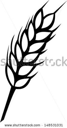 Autumn Silhouettes On White Background, Vegetables And Tree Stock Vector 58551565 : Shutterstock
