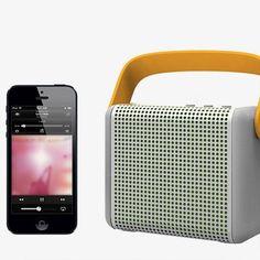 Boomax Bluetooth Speaker by MiPow | MONOQI #bestofdesign #soundbox