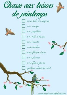 Frühlingsschatzsuche - Fiche à imprimer Chasse aux trésors de printemps – fiche à imprimer Frühlings-Schatzsuche Nature Activities, Spring Activities, Activities For Kids, Happy New Year 2019, French Lessons, Teaching French, Mood, Lessons For Kids, Kids And Parenting