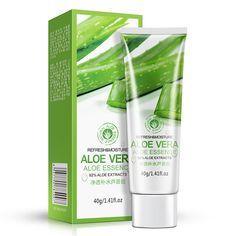 Bioaqua бренд 40 г гель алоэ вера Уход за кожей лица крем гиалуроновой кислоты анти выковырять отбеливание увлажняющий крем для лечения прыщей