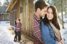 Cabin engagement session   Canadian film photographer Keila Marie Photography   Engagement Session outfit inspiration