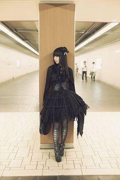 Kuro #Goth girl