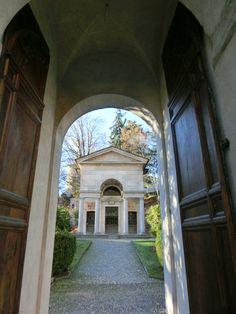 Entrata Sacro Monte di Varallo #sacrimontisocial UNESCO
