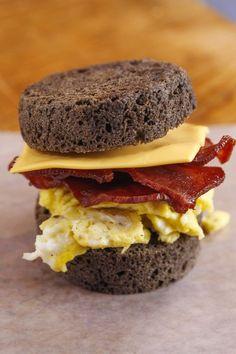 Rocco DiSpirito's Bacon, Egg and Cheese Breakfast Sandwich
