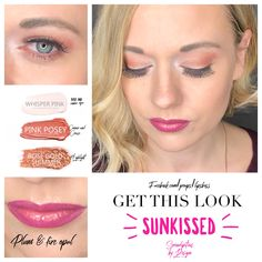 ShadowSense Eye combo  ShadowSense:  whisper pink, pink posey, rose gold shimmer.    Lips: plum and fire opal. Get this look: Senegence.com/lipbosslindsey Facebook.com/groups/lipsboss   #lips #makeup #mua #makeupartists #eyelook #bossbabe