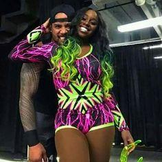 Jon and Trinity Wrestling Superstars, Wrestling Divas, Wwe Quotes, Divas Wwe, Naomi Wwe, Wrestlemania 29, Trinity Fatu, Wwe Couples, Wwe Women's Division