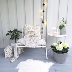 Outdoor Gardens, Accent Chairs, Lounge, Gardening, Instagram Posts, Furniture, Home Decor, Lily, Upholstered Chairs