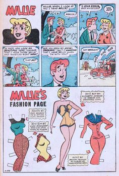 Millie's Fashion Page