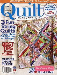 Quilt Magazine June/July 2013 Issue