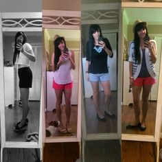 Few of my favorite spring/summer looks. Most items from LOFT and Anthropologie.