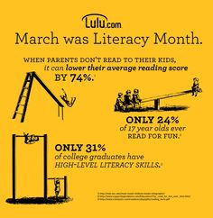 March is Literacy Month. Know the facts, make an impact.