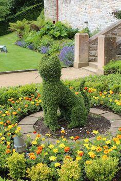 Cat Topiary, Belfast Castle Gardens