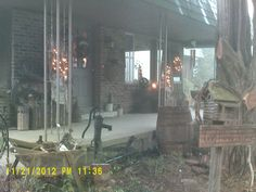 """""""junkiques"""" reside on & around our porch too...:D"""
