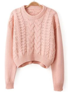 Womens sweaters smart solid pullover tops of Stock Girly Outfits, Pretty Outfits, Fall Outfits, Casual Outfits, Cute Outfits, Casual Sweaters, Cute Sweaters, Sweaters For Women, Cable Knit Sweaters