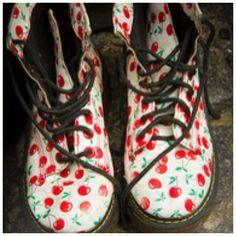 +mood: Cerejas, desta vez em sapatos! #cherry #shoes