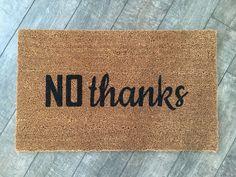 hello. welcome mat / Handpainted, Custom doormat / Funny Doormat / Personalized…