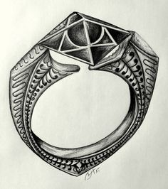 Marvolo Gaunt's Ring by HeineD