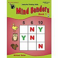 Mind Benders, Book 1 (Grades PreK-K)